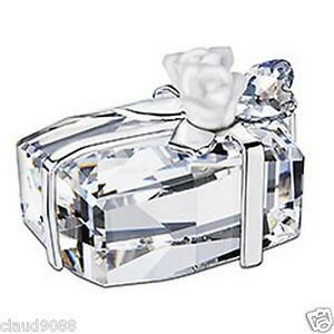 SWAROVSKI-SILVER-CRYSTAL-WEDDING-PRESENT-992561-MINT-09-MINT-IN-BOX