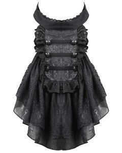 Punk Rave Aristocrat Cravat Jabot Tie Black Lace Gothic Steampunk Regency VTG