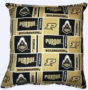 University-Purdue-Pillow-Football-Pillow-Boilermakers-Pillow-NCAA-HANDMADE-USA