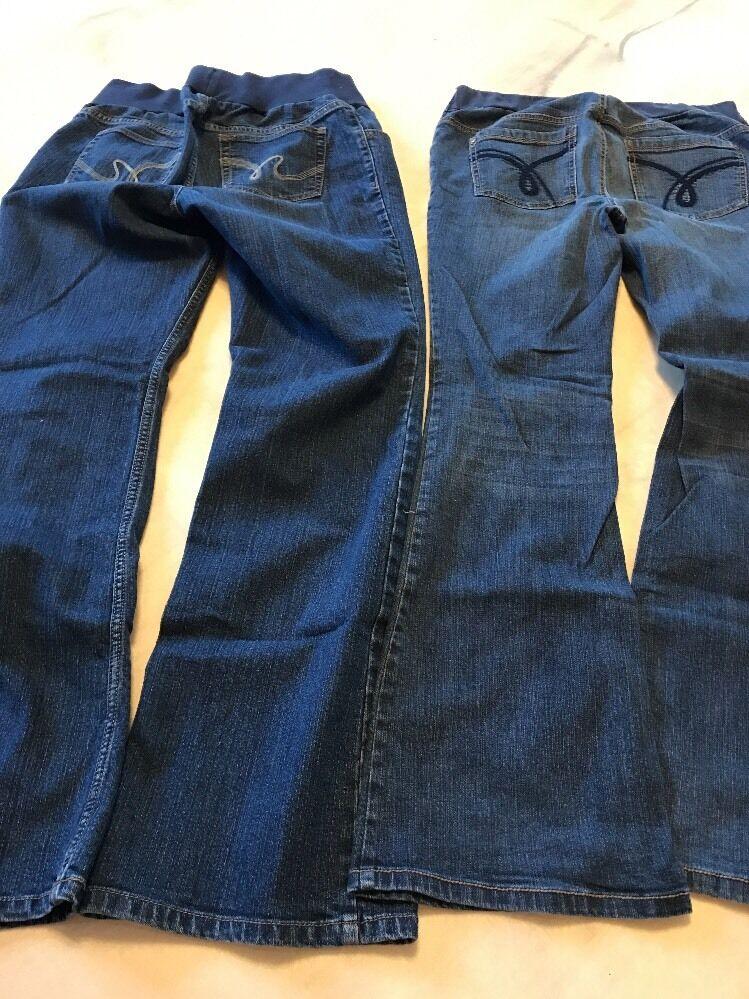 Motherhood Maternity Jeans Size Medium Lot 2 Pair