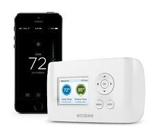 ecobee Smart Si Thermostat. Schedule, monitor & adjust remotely. It's Simple!