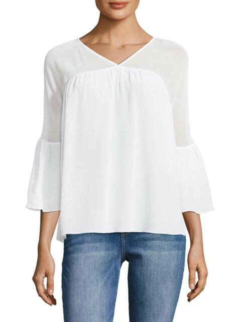 2690d4d894c72 Bailey44 Womens Bailey 44 Bell Sleeve Top S White for sale online