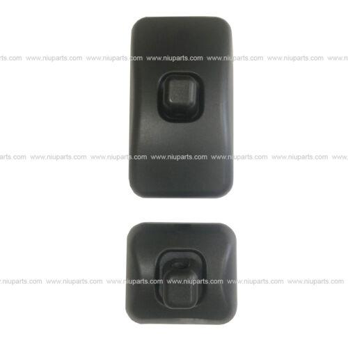 One Set of Rear View Door Mirror Black Fit: International CF, Nissan UD