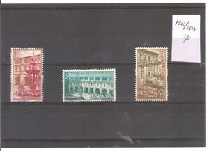 ESPANA-ANO-1960-EDIFIL-1322-1324-REAL-MONASTERIO-DE-SAMOS-NUEVO-S-F