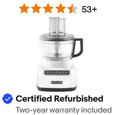 KitchenAid RKFP0711WH 7 Cup Food Processor R-KFP0711 Beautiful White