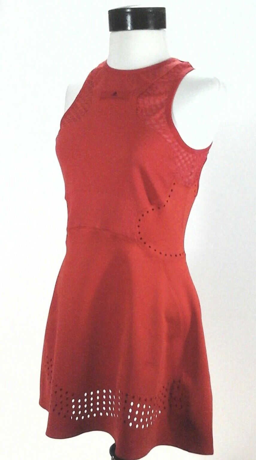 Adidas STELLA MCCARTNEY Tennis Dress Q3 Barricade orange CY1905 Women's  130 New