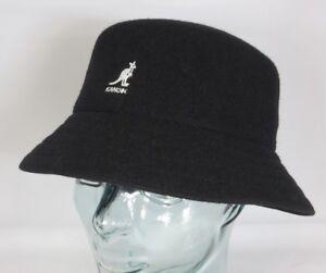 28b46a04272d0a Kangol Wool Lahinch Bucket Hat Fishing Hat Floppy Hat Hat Black Wool ...