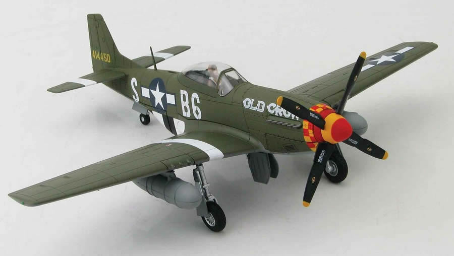 HOBBY MASTER 1 48 P-51D MUSTANG 414450, le Capt C. E. Bud Anderson, 363rd FS, 357th Fighter Group