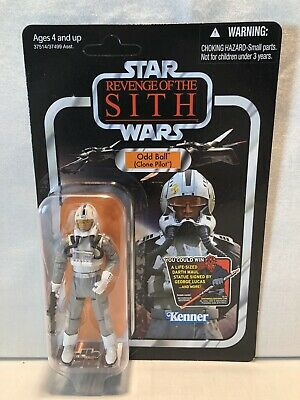 Star Wars Vintage Collection Revenge of the Sith Odd Ball Clone Pilot Figure