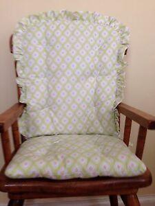 ... Medallion-Print-High-Chair-Pads-Child-039-s-Rocking-Chair-Cushions-NWT