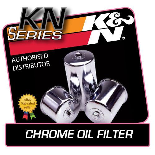 KN-204C K/&N CHROME OIL FILTER fits TRIUMPH TIGER 1050 2007-2010