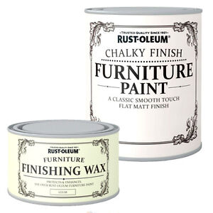 Rust-Oleum-Chalky-Finish-Wood-Furniture-Paint-Smooth-Matt-Coating-Water-Based