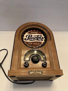 vintage pepsi cola jukebox Fm Am Radio collectors series