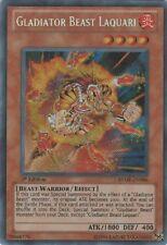 YuGiOh Ra Yellow Mega Pack RYMP-EN096 Gladiator Beast Laquari Secret Rare 1st Ed
