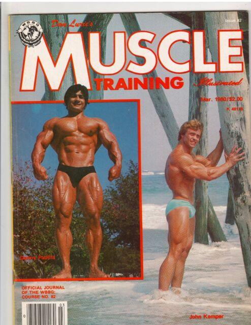 MUSCLE TRAINING ILLUSTRATED magazine/DANNY PADILLA & JOHN KEMPER 3-80