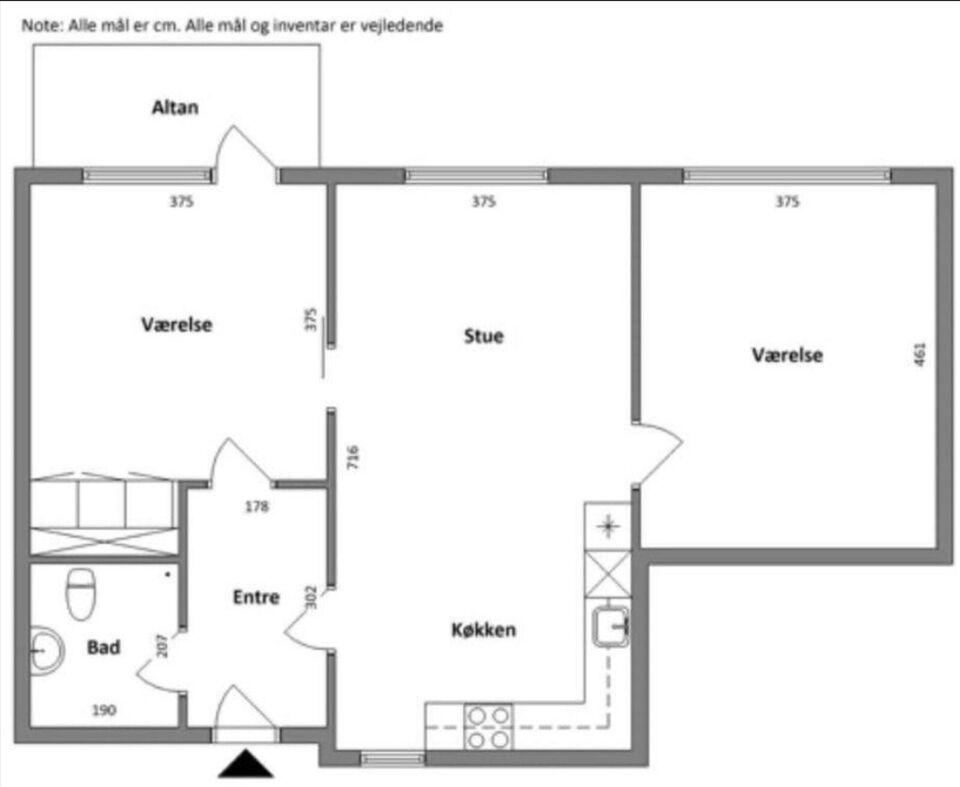 Hus byttes, 2000, 93 kvm
