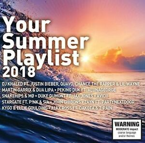 Various-Artists-Your-Summer-Playlist-2018-New-amp-Sealed-2-CDs