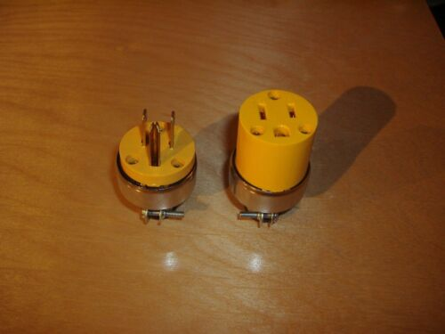 Male Female or Combo Replacement Electrical Plug for Cord Repair Outlet
