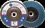 "5 Pack 4.5"" x 7//8/"" Professional 40 Grit Zirconia Flap Disc Grinding Wheels T29"