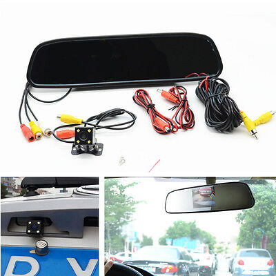 Car & Truck Parts Bright Car Reverse Parking 4 Led Astern Camera Rearview Mirror Display Monitor For Bmw To Make One Feel At Ease And Energetic