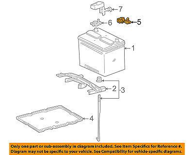 NISSAN OEM-Battery Terminal-Negative 243407999B