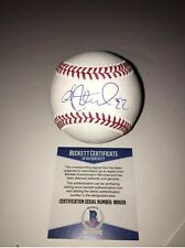 Andrew McCutchen Signed Auto Official MLB Baseball Pittsburgh Pirates Beckett!
