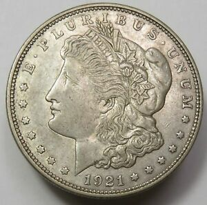 1-1921-MORGAN-SILVER-DOLLAR-VG-XF-CONDITION-MINT-VARIES-SILVER-INVESTMENT
