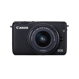 NEU-Canon-EOS-M10-18MP-Compact-DSLR-Digitalkamera-mit-15-45mm-Objektiv-Kit-WTY