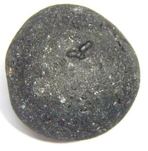 Large Black Indochinite Tektite Stone from China - 43.7 gram (35x35x28 mm)