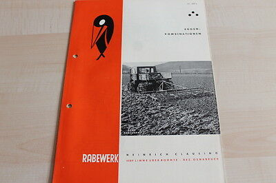 Eggenkombination Prospekt 03/1963 Rabewerk 144580