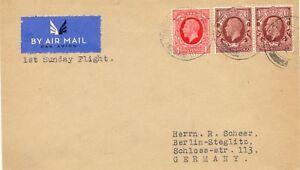 2415-1934-extremely-rare-First-Flight-034-LONDON-BERLIN-034-FIRST-SUNDAY-FLIGHT