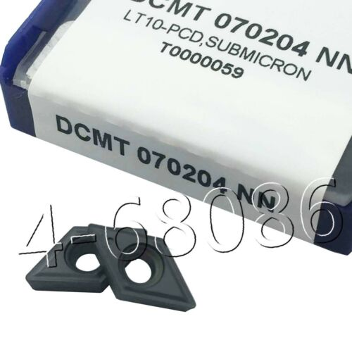 DCMT070204-NN DCMT21.51 NN lathe Turning Cutting Tool Carbide Insert for SDNCN