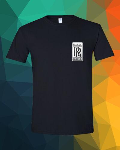 Rolls-Royce Pocket Luxury Car Phantom Ghost Wraith Dawn Black T-Shirt S 3XL