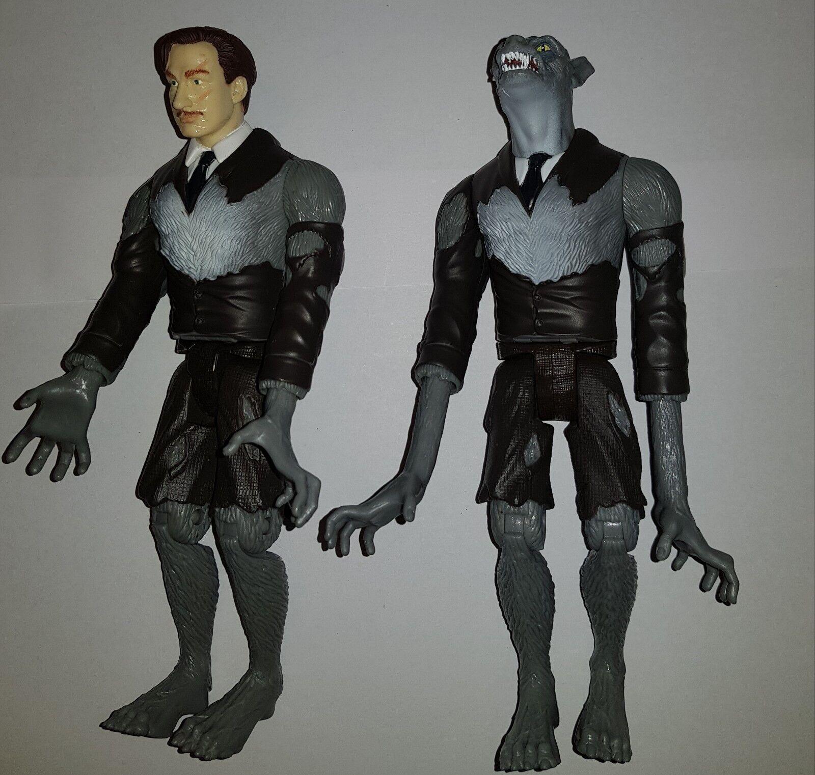 Harry Potter Remus Lupin Trabajo Lote De 2 Figuras de transformación de Mattel Hombre Lobo