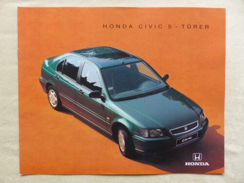 Prospekt Brochure 10.1994 Honda Civic 5-Türer MJ 1995