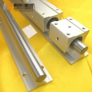 SBR16 Fully Supported Linear Rail Shaft Rod Linear Shaft With Support Dia 16mm