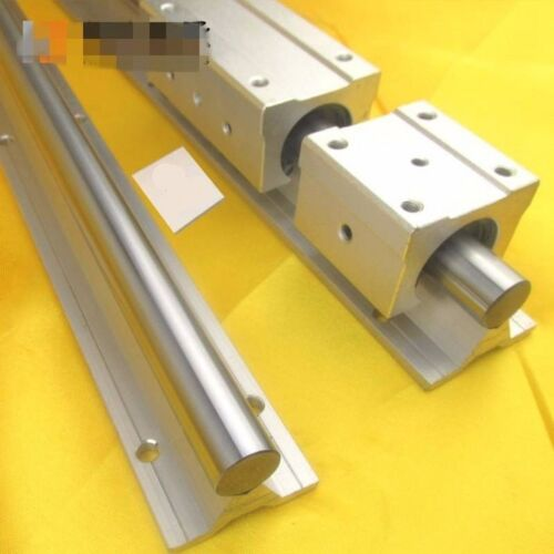1Pc SBR25-1000mm Fully Supported Linear Rail Shaft Rod With Support Dia 25mm x1M