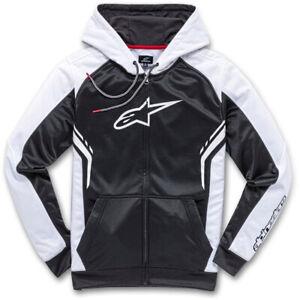 Black /& White Alpinestars Casual Astars Blaze Fleece Pullover Hoodie