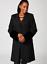 20 Berman Cuff Helene Jersey Fur Bnwt With Faux Black College Coat UzTzqxw