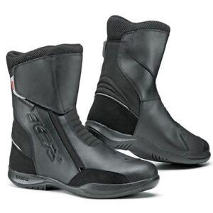 Dettagli su Stivali Moto Touring TCX Modello SYNERGY WATERPROOF Nero N 46