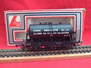 "Lima ""corn Products Co."" 6-wheel Glucose Tank Wagon.new In Box.suits Hornby"