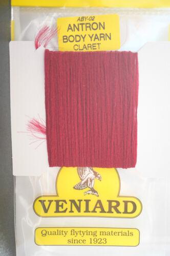 Veniard ANTRON Body Yarn ABY-02 CLARET