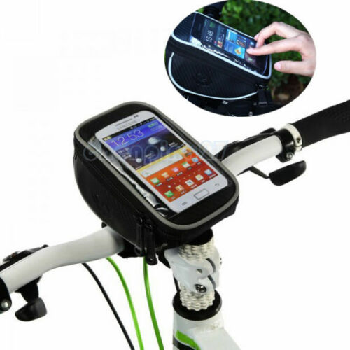 Bike Bicycle Handlebar Bag Touch Phone Case For iphone 5//6//7 Samsung S3//4 HTC