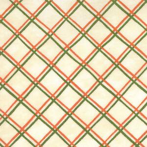 Saltbox-Harvest-Plaid-Ivory-Fabric-Green-Orange-Red-Quilting-Quilt-Fabrics