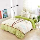 Queen King Size Bedding Set Pillowcase Quilt Duvet Cover Beauty Lovely Tree T