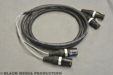 prof. 2 Kanal XLR AES/EBU Multicore-Kabel 2m HiCon 110 Ohm - DMX geeignet *NEU*