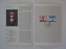 (04j25) Bund Erinnerungsblatt 2004 mit ESST Mi.Nr.  2409-2410 Leuchttürme