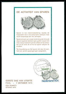 Diverse Philatelie Europa Nl Mk 1975 Sparen MÜnzen Coins Maximumkarte Carte Maximum Card Mc Bb94 Ein Unbestimmt Neues Erscheinungsbild GewäHrleisten