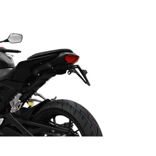 Honda CB 125 R BJ 2018 Halteplatte Universal Highsider Nummernschild Halter