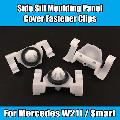 5x Clips for Mercedes W211 Smart Protective Strip Moulding A2119880578